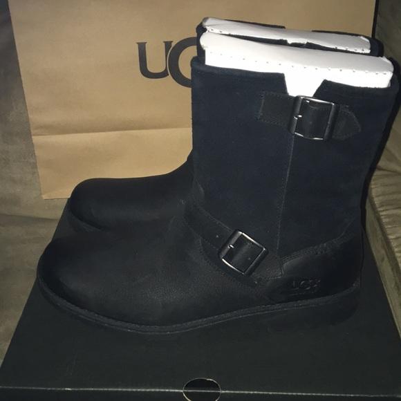 2bcbf792274 Ugg Black Messner Boots NWT